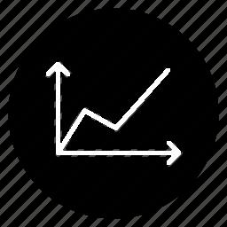 analytics, business, chart, graph, round, statistics icon