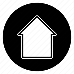 building, casa, home, house, round icon