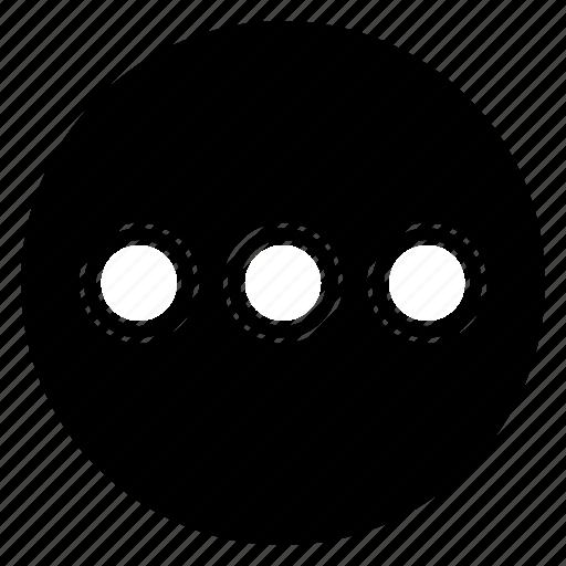 load, round, wait icon
