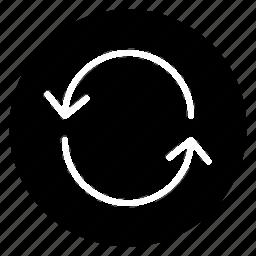 loop, round icon