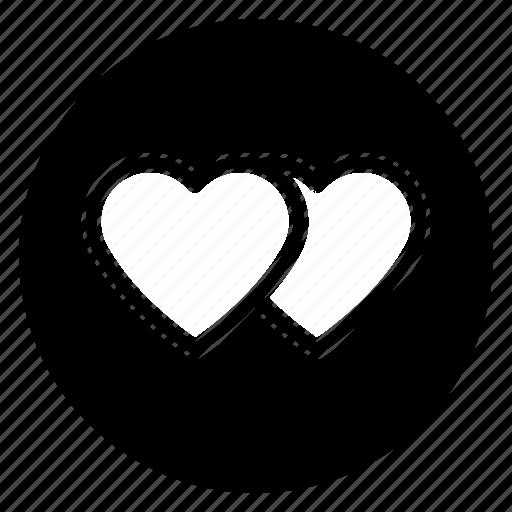 marriage, round, social icon