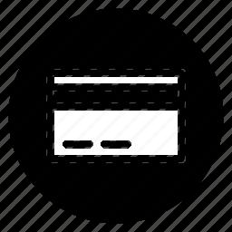 card, debit, mastercard, round icon