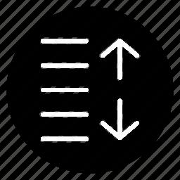 circle, increase, round, sign, spacing icon