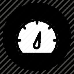 gauge, measure, performance, round, seo, speed icon