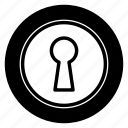 access, door, key, open icon