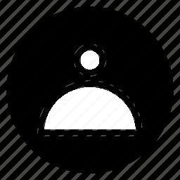 account, avatar icon