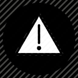 alarm, alert, attention, danger, error, warning icon