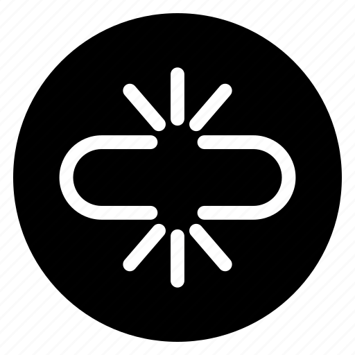 broken, chain, cloud, link, network, separate icon