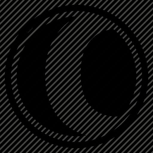 alphabet, c, character, round icon