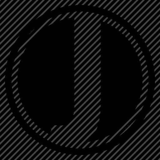 alphabet, character, j, round icon