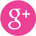google, media, pink, round, social icon
