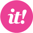 media, pink, round, scoopit, social icon