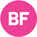 buzzfeed, media, pink, round, social icon