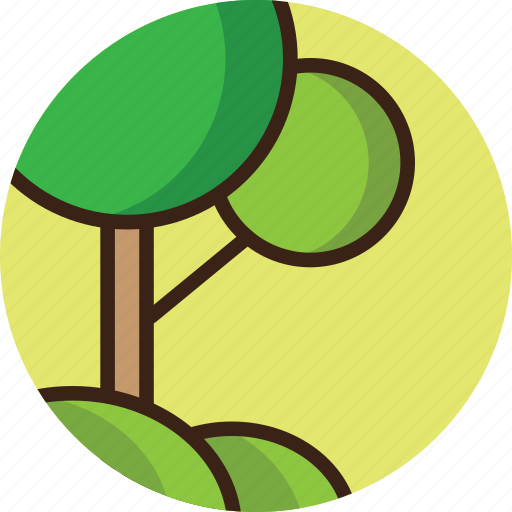 environment, forest, green, nature, space, tree, trees icon