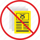 clown, false, news, newspaper, press, stop, yellow icon