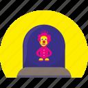 child, clown, hero, kid, toy icon