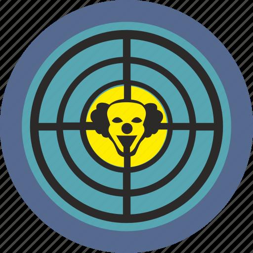 avatar, clown, face, head, holiday, smile, terrorist icon