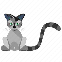 animal, avatar, body, cat, kitty, pet icon