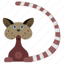 animal, body, cartoon, cat, kitty, pet icon
