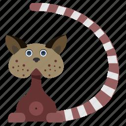 animal, body, cartoon, cat, kitty, pet icon