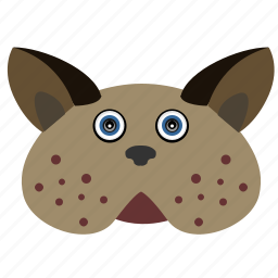 animal, avatar, cat, face, fat, kitty icon