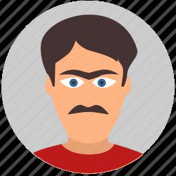 avatar, european, face, italian, male, man, terrorist icon