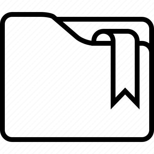 bookmark, closed, favorite, folder icon