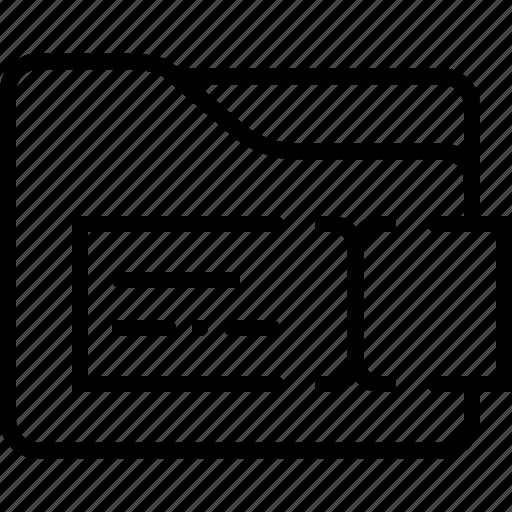 edit, folder, rename icon