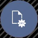code, compile, configuration, gear, program, settings icon