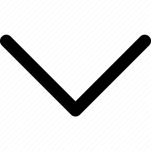 arrow, ceveron, down, scroll icon