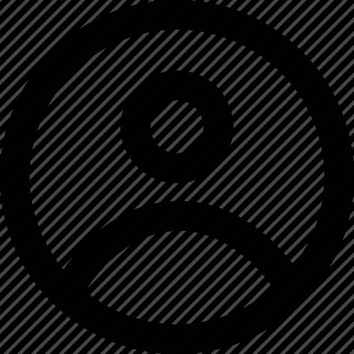 image, profile, profile icon icon