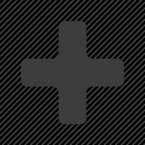 add, maximize, new, open, plus icon