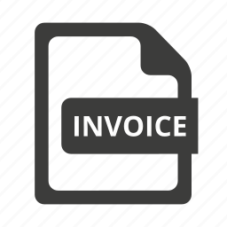 bill, document, invoice icon