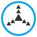 direction, directions, expand, full screen, maximize, navigation, triangles icon