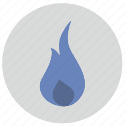 fire, flame, hot, point icon