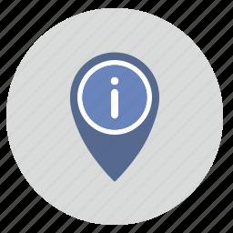 geo, location, pointer, tag icon