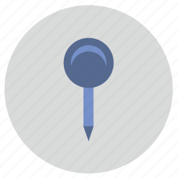 dot, location, map, place, pointer icon