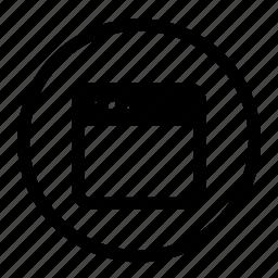 interface, roundedwhite, ui, uiux, web, window icon