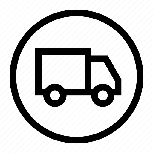 delivery, messenger, shipment, transport, truck icon