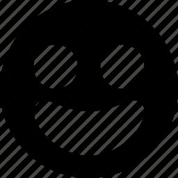 avatar, emoticon, emotion, face, grin, happy, smile, smiley icon