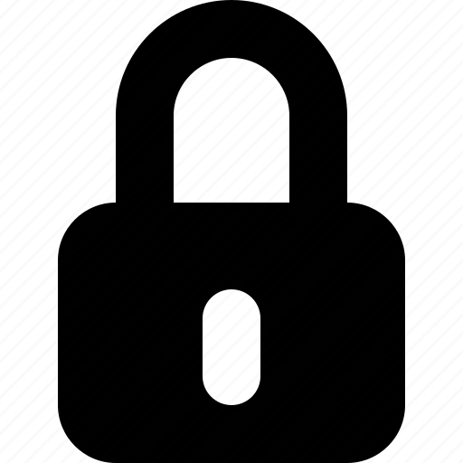 lock, locked, password, secure, security icon