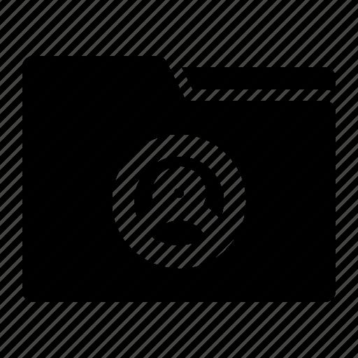 data, document, file, folder, user icon