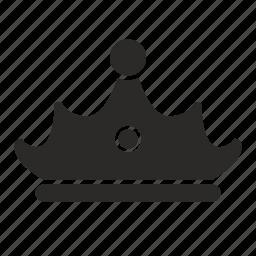 crown, family, king, princess, queen, royal icon