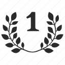 branch, first, laurel, one, place, winner, 1