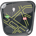 guide, map, maps, navigation, route icon
