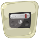 mp3, music, radio icon