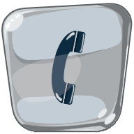phone, ring icon