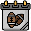 calendar, event, schedule, rugby, ball
