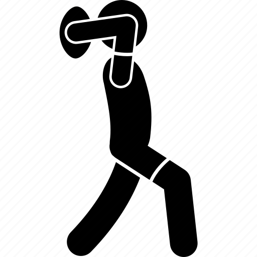 player, rugby, throw, toss icon