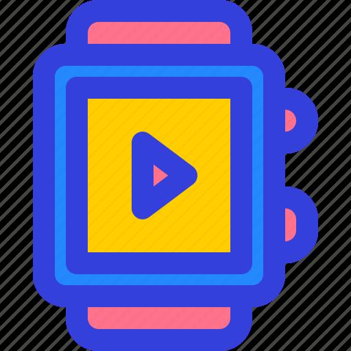 app, gadget, health, smartwatch, tech icon